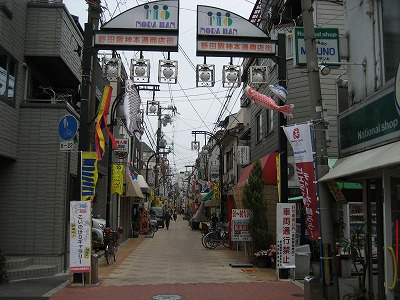 野田本通商店街