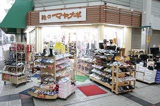 靴のマヤナギ